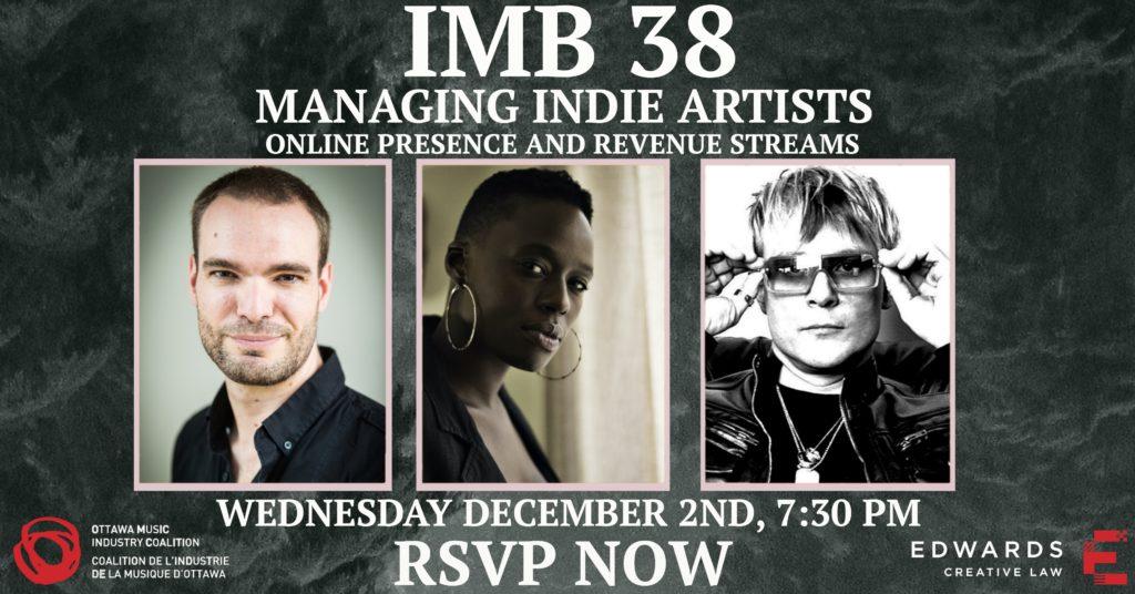 Managing Indie Artists