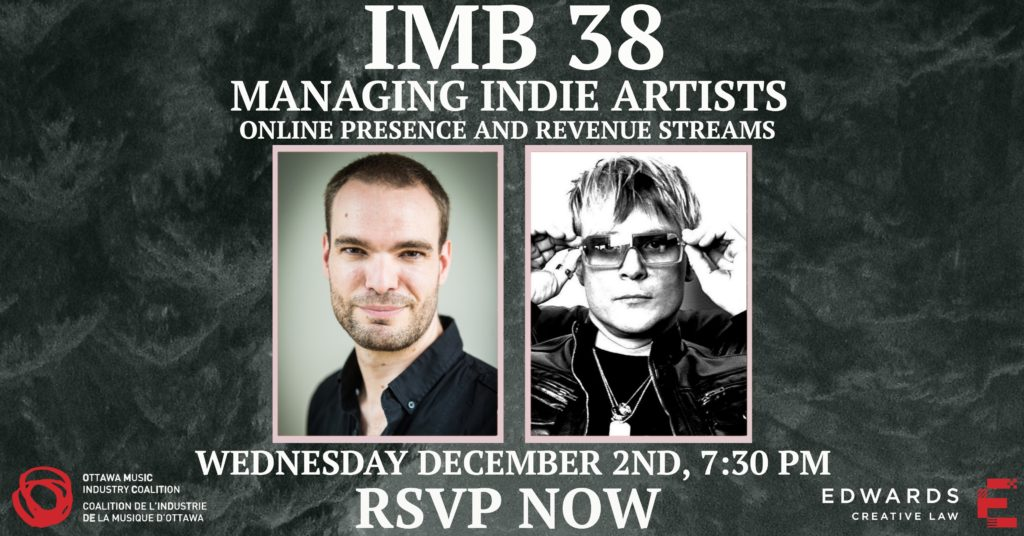Managing Indie Artists